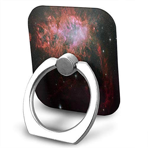 Phone Stand Starburst in A Dwarf Irregular Galaxy Ring Cell Phone Stand Adjustable 360° Rotation Phone Finger Holder for IPad, Kindle, Phone 6s/7/8/8 Plus/7, Divi, Smartphone (Adjustable Ring Starburst)