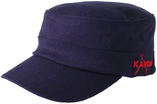 - Kangol Unisex-Adult's Championship Army Cap, navy/red S/M