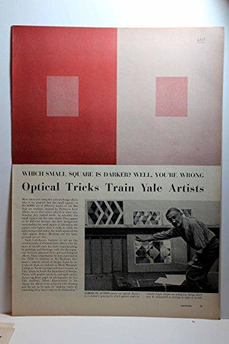 (Article: Optical Tricks Train Yale Artists - Josef Albers