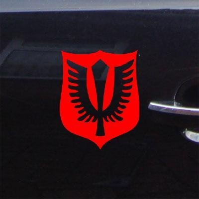 Vinyl Wall Notebook Red Art Window Wall Art Bike Die Cut Laptop Sticker Decal Helmet Berserk Adhesive Vinyl Car Griffith The Hawk Logo ()
