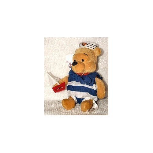 Bear Navy Teddy (Disney Mini Bean Bag Nautical Pooh)