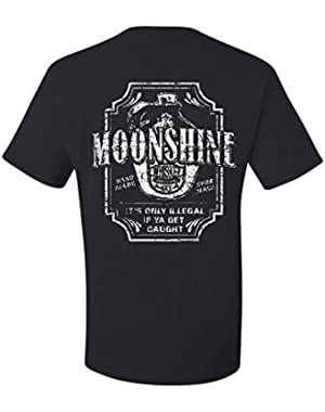 Moonshine Tennessee Whiskey T-Shirt Smoky Mountain Tee Shirt