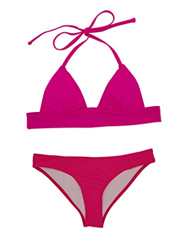 FQGOME Womens Self-Tie Solid Color Swimsuit Size - Suit Canada Tri