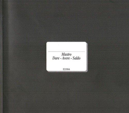 Edipro' - Mastro Dare/Avere/Saldo E2586 Edipro'
