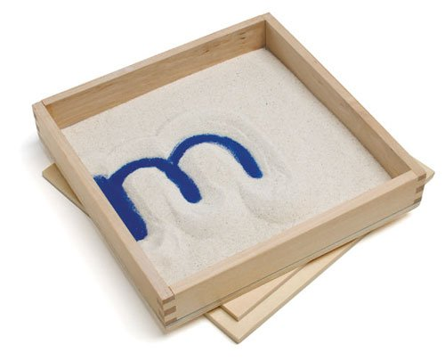 Primary Concepts PC-2012 Letter Formation Sand Tray, 8'' Width, 8'' Length (Pack of 4) by Primary Concepts,