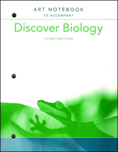 Art Notebook: for Discover Biology, Third Edition