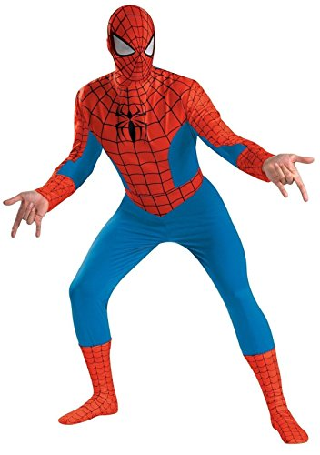 Stan Lee Signed Marvel Spiderman Full Adult Costume W/Stan Lee Hologram