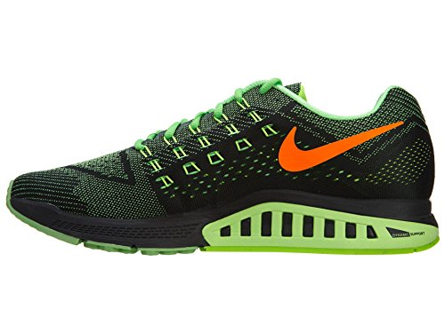 Nike Air Zoom Structure 18 - Zapatillas para hombre POISON GREEN/FLASH LIME-BLACK-TOTAL ORANGE