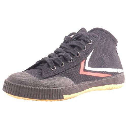 Feiyue High Top Wushu Shoes,Black,38