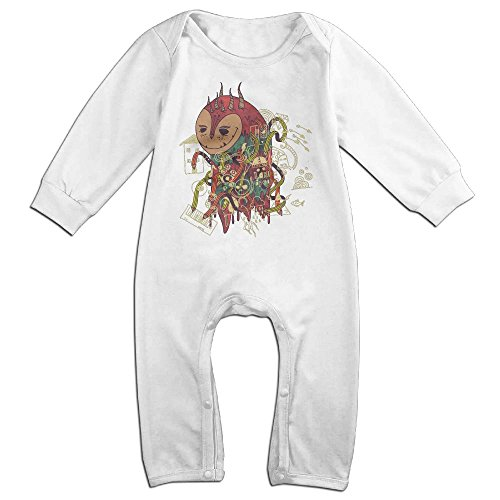 The-doodler Long Sleeve Outfits For 0-24 Months White 6 - To Usps Class First Australia Time International