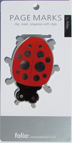 Ladybug Page Marks (Clip-over-the-page) -
