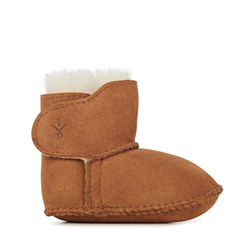 - EMU Australia Grubs Baby Bootie (Infant/Toddler),Chestnut,18-24 Months M US Toddler