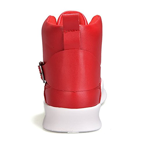 amp;Baby pelle morbida uomo Sunny per Rosso 40 ginnastica unita EU in da Bianca Resistente Dimensione tinta in Color all'abrasione Scarpe sintetica dXXPSp