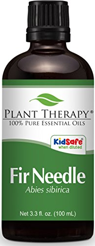 Plant Therapy Fir Needle Essential Oil 100 mL (3.3 oz) 100% Pure, Undiluted, Therapeutic Grade