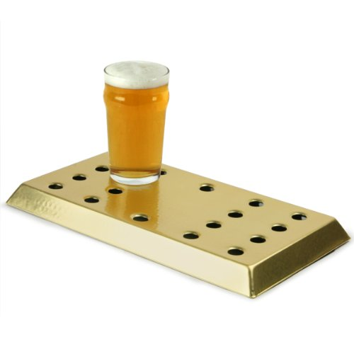 Brass Drip Tray | Bar Drip Tray, Driptrays | Aluminium Drip Tray with Brass Lacquer Coating Drinkstuff