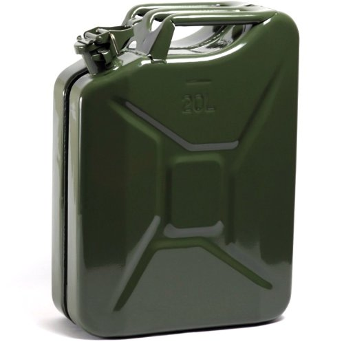 Edco 20L Metal Jerry Can Petrol Canister Professional Very Safety 871125200536