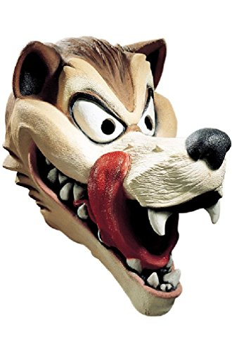 Hungry Wolf Cesar Deluxe Latex Mask Costume Mask]()