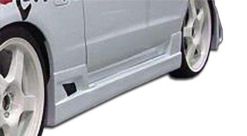 Duraflex Replacement for 1993-1997 Honda Del Sol Buddy Side Skirts Rocker Panels - 2 Piece