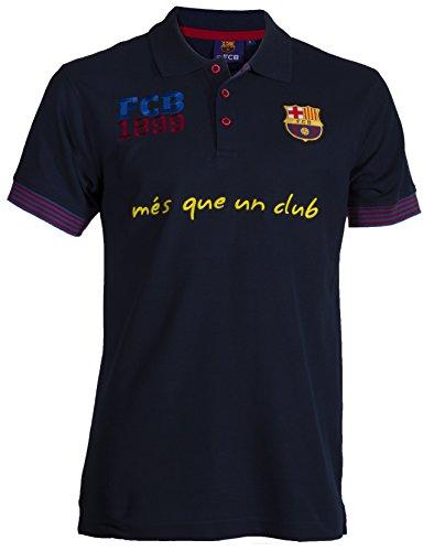 Polo-Shirt Barça, offizielles Produkt von FC Barcelona, Erwachsenengröße, für Herren