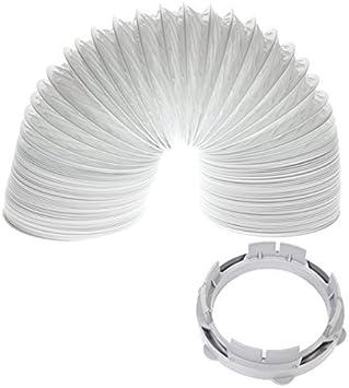 White Knight / Crosslee Kit Secadora de ropa manguera de ventilación del condensador del adaptador (4m / 4