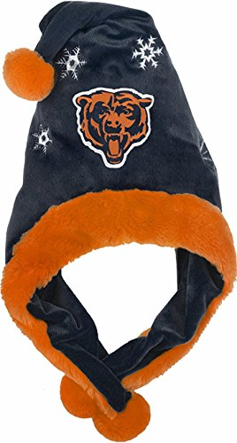 ee35f76a3fc53f Chicago Bears Thematic Santa Hat