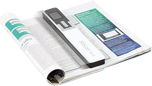 Iris Iriscan Book 5 Buchscanner Win Mac Kabellos Integrierte Wiederaufladbare Lithiumbatterie 300 600 1200 Dpi Weiß Elektronik
