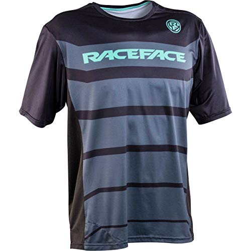 RaceFace Indy Short-Sleeve Jersey - Men's Black, XL
