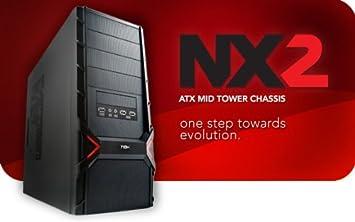 Nox Xtreme NX2 Midi Torre ATX PC Case Negro: Amazon.es: Electrónica