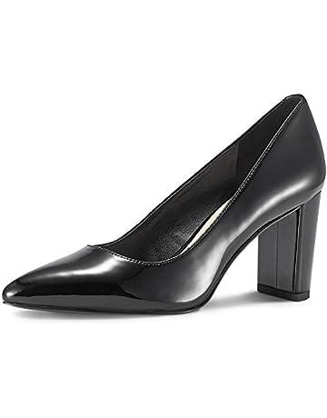 c1cef8f04 JENN ARDOR Chunky Thick Block Heel Pumps Pointed Closed Toe Office Dress  Lady High Heel Shoes