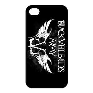 FEEL.Q- Unique Custom TPU Rubber iPhone 6 4.7 Case Cover - Black Veil Brides