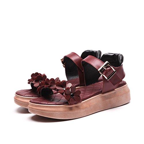 sandali e sandali sandali signore le gules dolci i sandali a i sandali agio sandali i 36 suo fiori donne sandali Y40w8qY