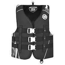 BRP Sea-Doo Ladies' Vibe Nylon Life Jacket Vest PFD Sea-Doo X-LARGE GREY by Sea-Doo