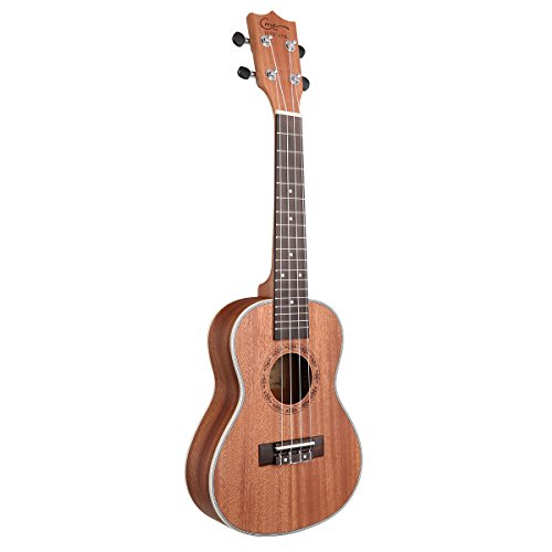 Hricane Tenor Ukulele 26inch Professional Ukelele For Beginners Hawaiian Uke UKS-3 Bundle with Gig Bag - Image 2
