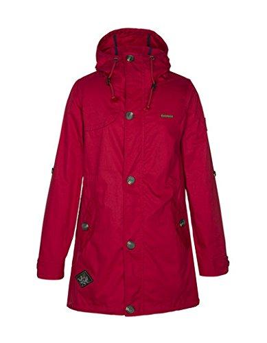 Zimtstern Coat Mood Women - Cortavientos para mujer Rojo