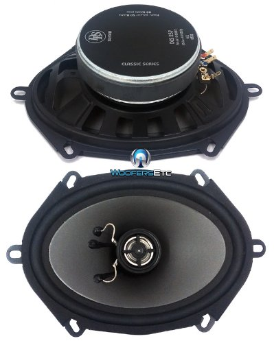 257 - DLS 5 x 7'' 2-Way Speakers by DLS