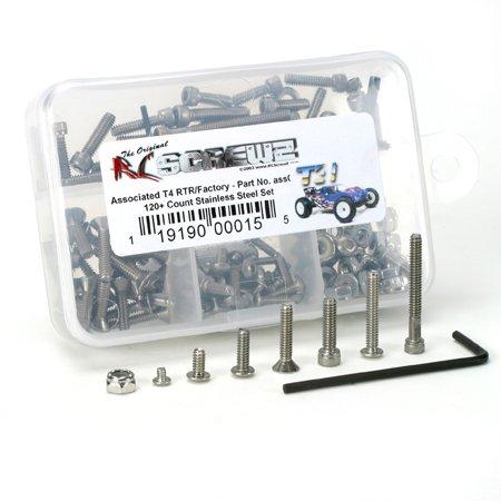 RC Screwz ASS015 T4 RTR Factory Screw Set