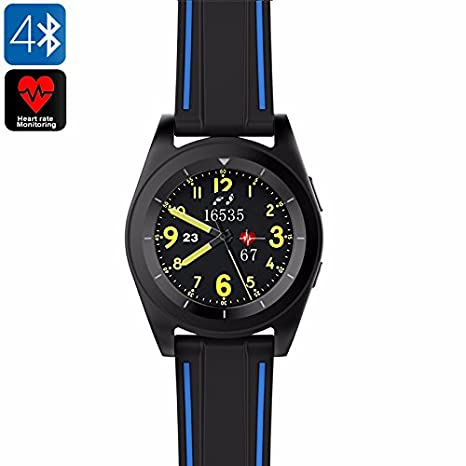 No.1 G6 Smartwatch Bluetooth podómetro PULSÓMETRO App Mobile ...