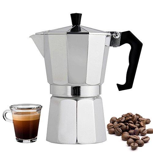 BNYD Stovetop Espresso Maker 6 Cup