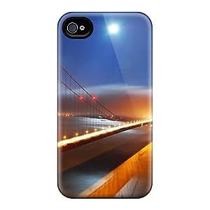 PHZ2038RkPH TinaMacKenzie San Francisco Bridge Night Lights Feeling Iphone 6 On Your Style Birthday Gift Covers Cases