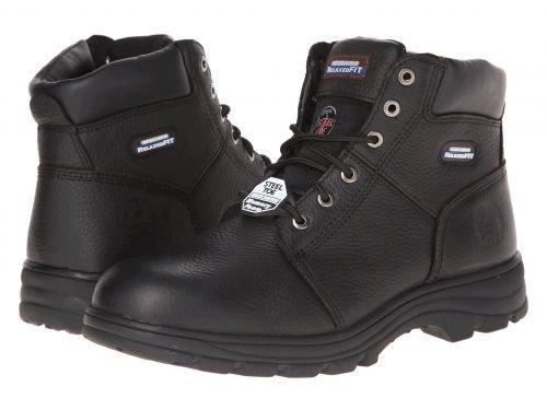 SKECHERS Work(スケッチャーズ) メンズ 男性用 シューズ 靴 ブーツ 安全靴 ワーカーブーツ Workshire Relaxed Fit Black [並行輸入品] B07F9VVP5G 9.5 D Medium
