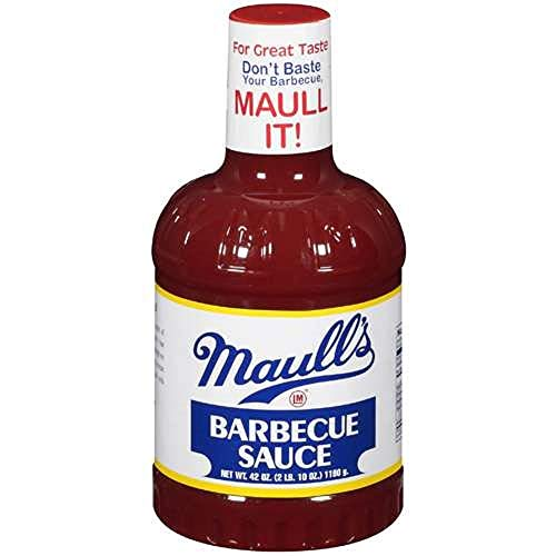 Maull's Original Barbecue Sauce, 42 Ounce, St. Louis Style, Oldest in BBQ Sauce America (James River Bbq)
