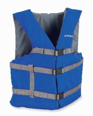 Stearns 3000001714 Boat Adult Vest, Blue