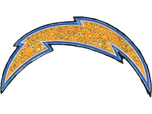 San Diego Chargers Crystal Logo Brooch Pin
