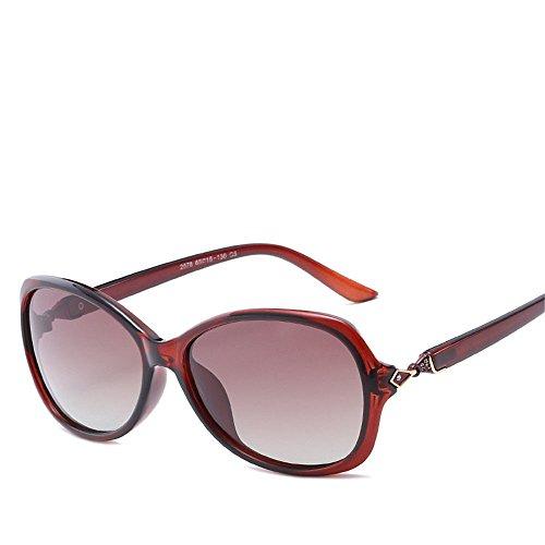 Chahua Lunettes de soleil brillant classic big box Européens et Américains rétro lunettes de soleil, lunettes de soleil, brillant