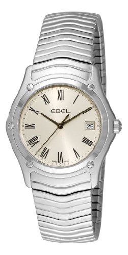 Ebel-Mens-9255F416125-Classic-Silver-Roman-Numeral-Dial-Watch