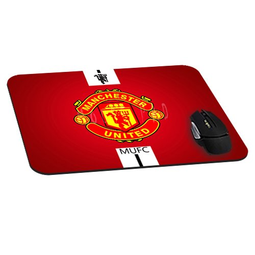 Manchester United Fc Logo Mouse Pad Natural Rubber