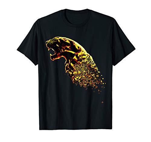 (Black Panther Animal Shattered Gold Designer)
