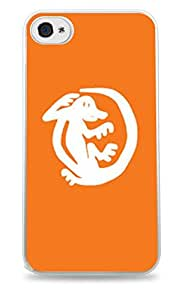 Orange Iguanas Legends of the Hidden Temple White 2-in-1 Protective Case with Silicone Insert for Apple iPhone 5 / 5S