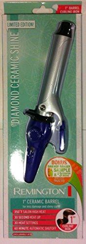 "Remington Diamond Shine 1"" Curling Iron"