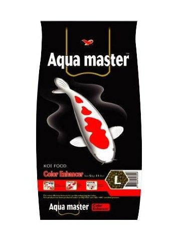 Aquarium Aqua Color (Aqua Master Color Enhancer Fish Food, 2.2-Pound/Bag, Large)